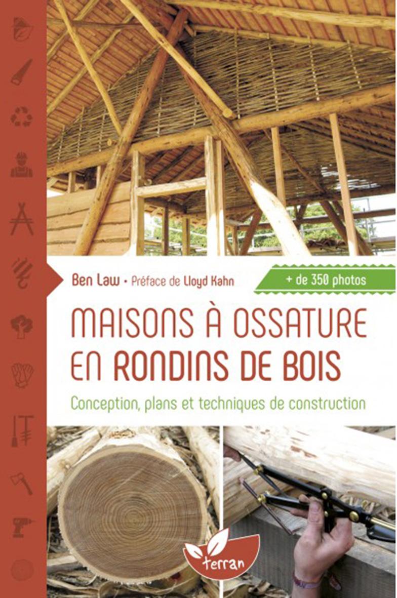 Maisons Ossature En Rondins De Bois Conception Plans Et