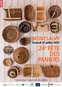 fête vannerie Montsalvy