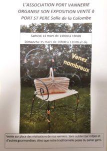 Port vannerie-affiche