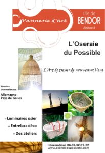 vannerie exposition Bendor 2020